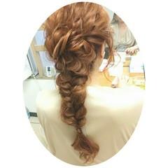 大人かわいい ヘアアレンジ ゆるふわ フェミニン ヘアスタイルや髪型の写真・画像