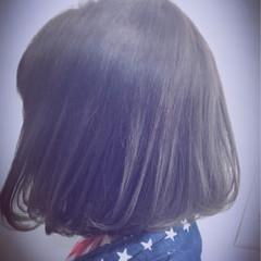 ブルージュ グラデーションカラー ボブ ゆるふわ ヘアスタイルや髪型の写真・画像
