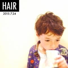 子供 ショート ヘアスタイルや髪型の写真・画像