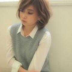 ハイライト ゆるふわ 大人かわいい フェミニン ヘアスタイルや髪型の写真・画像