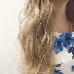 アッシュ ゆるふわ ガーリー ピュア ヘアスタイルや髪型の写真・画像