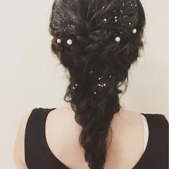 ロング くせ毛風 ショート 簡単ヘアアレンジ ヘアスタイルや髪型の写真・画像