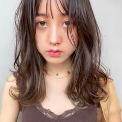 愛され レイヤーロングヘア 大人可愛い デジタルパーマ ヘアスタイルや髪型の写真・画像