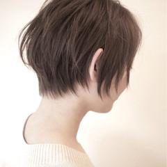 ストリート アッシュ ショート 小顔 ヘアスタイルや髪型の写真・画像