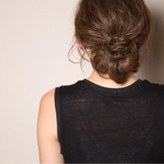 ロング ガーリー 外国人風 ブラウン ヘアスタイルや髪型の写真・画像