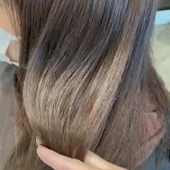 髪質改善カラー 髪質改善トリートメント ロング ナチュラル ヘアスタイルや髪型の写真・画像