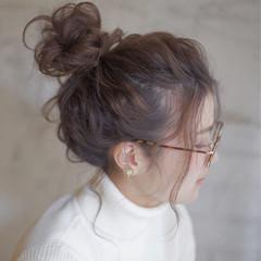 セミロング ヘアアレンジ 外国人風 ショート ヘアスタイルや髪型の写真・画像