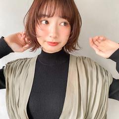 ショートボブ 韓国ヘア ミニボブ ヘアアレンジ ヘアスタイルや髪型の写真・画像
