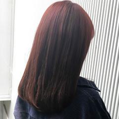 セミロング ナチュラル デート 前髪 ヘアスタイルや髪型の写真・画像