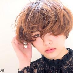 モード ショート アッシュ 色気 ヘアスタイルや髪型の写真・画像