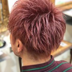 メンズカラー メンズ ハイトーン ショート ヘアスタイルや髪型の写真・画像