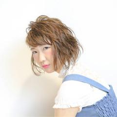 ウェットヘア ナチュラル ボブ 艶髪 ヘアスタイルや髪型の写真・画像