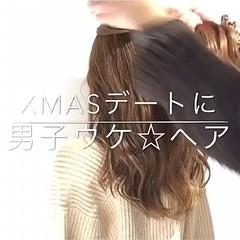 アウトドア デート オフィス フェミニン ヘアスタイルや髪型の写真・画像