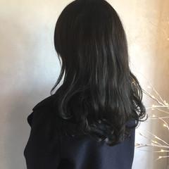 ロング 透明感 アンニュイほつれヘア モード ヘアスタイルや髪型の写真・画像