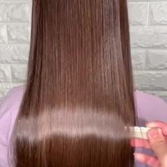 美髪 ロング ヘアアレンジ 髪質改善 ヘアスタイルや髪型の写真・画像