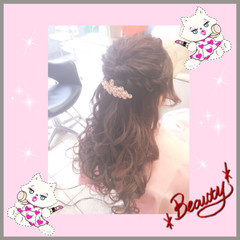 波ウェーブ ショート ロング ヘアアレンジ ヘアスタイルや髪型の写真・画像