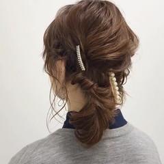 エレガント 結婚式髪型 大人カジュアル 福岡市 ヘアスタイルや髪型の写真・画像