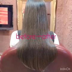 フェミニン ロング デート スポーツ ヘアスタイルや髪型の写真・画像