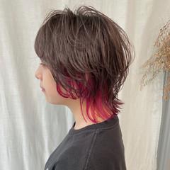 ボブ ストリート ショートヘア ウルフカット ヘアスタイルや髪型の写真・画像