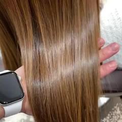 トリートメント 髪質改善トリートメント ロング エレガント ヘアスタイルや髪型の写真・画像