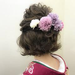 謝恩会 ナチュラル 結婚式 成人式 ヘアスタイルや髪型の写真・画像