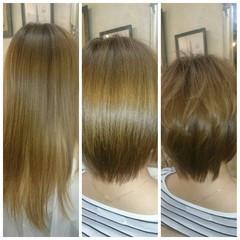 フェミニン ボブ 大人かわいい ガーリー ヘアスタイルや髪型の写真・画像