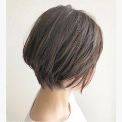 ストリート ショート アッシュ 大人かわいい ヘアスタイルや髪型の写真・画像