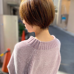 ショートヘア 大人かわいい ショート 簡単スタイリング ヘアスタイルや髪型の写真・画像
