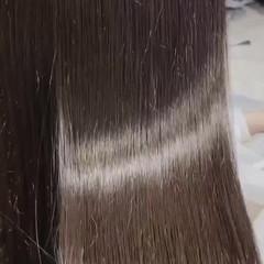 oggiotto 髪質改善 ナチュラル 透明感カラー ヘアスタイルや髪型の写真・画像