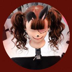 ミディアム ハロウィン 秋 ガーリー ヘアスタイルや髪型の写真・画像