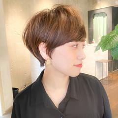 ショートヘア 大人ショート ショートボブ ショートカット ヘアスタイルや髪型の写真・画像