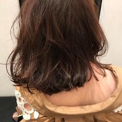 女子会 ナチュラル 外国人風カラー ミディアム ヘアスタイルや髪型の写真・画像