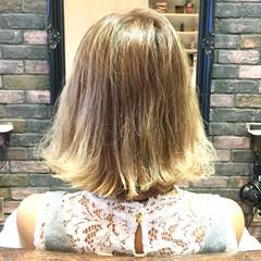 外ハネ ストリート グラデーションカラー 外国人風 ヘアスタイルや髪型の写真・画像