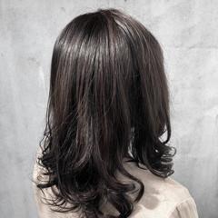 ナチュラル ゆるふわパーマ ナチュラル可愛い セミロング ヘアスタイルや髪型の写真・画像