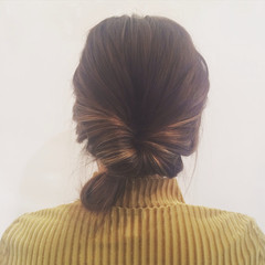ミディアム ストリート ヘアアレンジ ハイライト ヘアスタイルや髪型の写真・画像