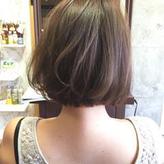 ショート 外国人風 ハイライト ヘアアレンジ ヘアスタイルや髪型の写真・画像