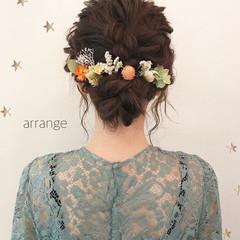 ミディアム 結婚式 大人女子 ストリート ヘアスタイルや髪型の写真・画像