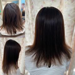 髪質改善トリートメント 縮毛矯正 最新トリートメント 髪質改善カラー ヘアスタイルや髪型の写真・画像