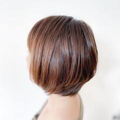 切りっぱなしボブ ボブ ショートヘア ベリーショート ヘアスタイルや髪型の写真・画像