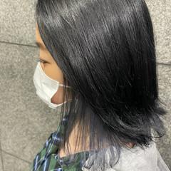 ショートヘア ブリーチカラー ボブ バレイヤージュ ヘアスタイルや髪型の写真・画像