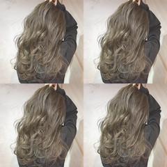 ハイライト 外国人風 イルミナカラー ロング ヘアスタイルや髪型の写真・画像