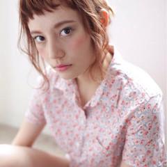ヘアアレンジ ゆるふわ ピュア ナチュラル ヘアスタイルや髪型の写真・画像