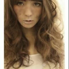 外国人風 ナチュラル 外国人風カラー ロング ヘアスタイルや髪型の写真・画像