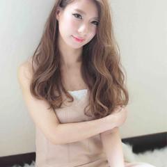 外国人風 ロング 大人かわいい 渋谷系 ヘアスタイルや髪型の写真・画像