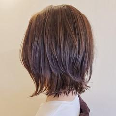 ショートボブ レイヤーボブ 切りっぱなしボブ ボブ ヘアスタイルや髪型の写真・画像