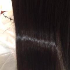 エレガント 上品 艶髪 ストレート ヘアスタイルや髪型の写真・画像