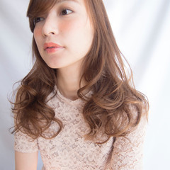透明感 セミロング 外国人風 大人かわいい ヘアスタイルや髪型の写真・画像