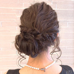 ヘアアレンジ デート 成人式 結婚式 ヘアスタイルや髪型の写真・画像