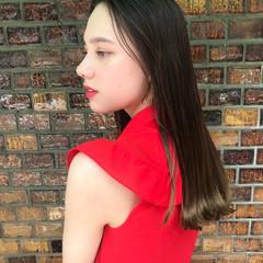 ナチュラル レイヤーカット 女子力 透明感 ヘアスタイルや髪型の写真・画像