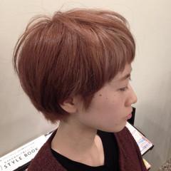 前髪あり ショート グラデーションカラー ストリート ヘアスタイルや髪型の写真・画像